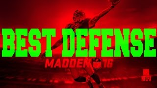 getlinkyoutube.com-Madden 16 Greatest / Best Nano Blitz Unstoppable Defense How To: 3-4 Normal