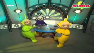 getlinkyoutube.com-Teletubbies Noo Noo Sucks Up Everything! Cleaning Up! Ball, Hat and Bag