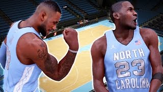 getlinkyoutube.com-NBA 2k16 My Team Gameplay Ep. 1 - How to Create UNC Tar Heels! Custom Uniforms & Dean Dome Stadium
