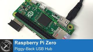 Raspberry Pi Zero Piggy-Back USB Hub