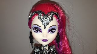 getlinkyoutube.com-REVIEW OF MY WONKY-EYED TEENAGE EVIL QUEEN (MIRA SHARDS) DOLL [EVER AFTER HIGH]