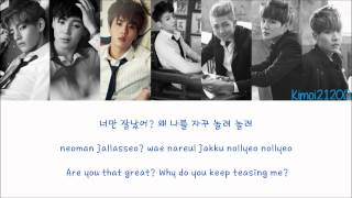 BTS (방탄소년단) - Boy In Luv (상남자) [Hangul/Romanization/English] Color & Picture Coded HD