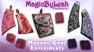 getlinkyoutube.com-Polymer Clay Mokume Gane Experiments MagicByLeah
