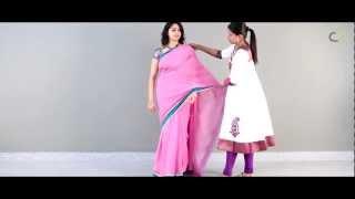 getlinkyoutube.com-How to drape a saree