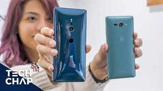 Sony Xperia XZ2 Hands-On Review - Better than Galaxy S9?   The Tech Chap