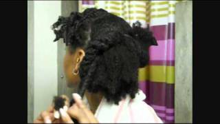 getlinkyoutube.com-#41 Easy Protective Style for Wash Day Routine