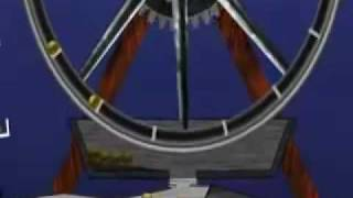 getlinkyoutube.com-Perpetual motion gravity wheel