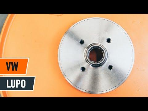 Как да сменим заден спирачен барабан и спирачна накладка на VW LUPO ИНСТРУКЦИЯ | AUTODOC