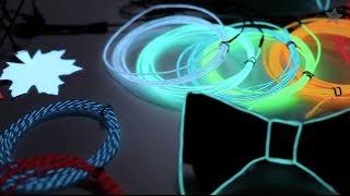 All About Electroluminescent Materials - EL Wire, EL Tape, EL Panel!