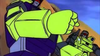 getlinkyoutube.com-Transformers G1 Dinobots VS Constructicons