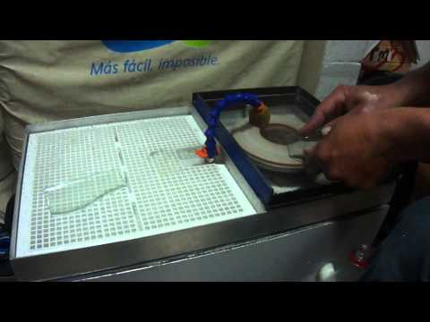 Maquina para pulir y biselar vidrio parte 2