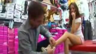 Jenna Haze shoe shopping in West Hollywood WOW