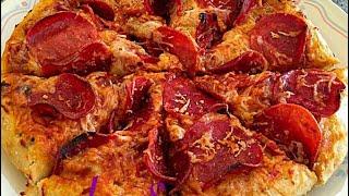 getlinkyoutube.com-بيتزا من مطبخي Pizza ............. Linda S kitchen مطبخ ليندا