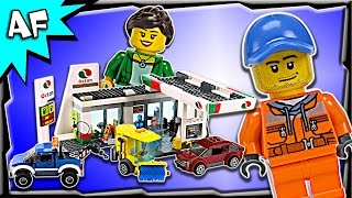 getlinkyoutube.com-Lego City Service Station 60132 Animation & Stop Motion Build Review