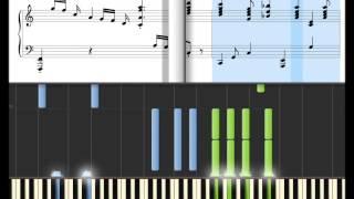 getlinkyoutube.com-Aladdin - A Whole New World - Piano tutorial at turtle speed!