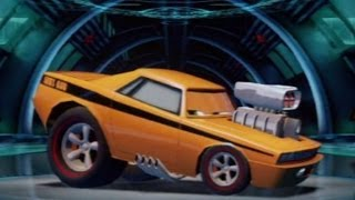 CARS ALIVE ! Cars 2 Gameplay-Snot Rod Oil Rig Run battle race