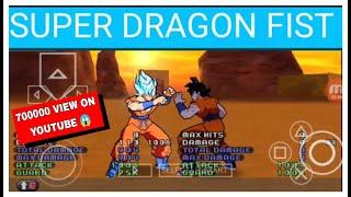 Dragonballz super Goku's all transformation and hidden technique into HD gameplay (PSP shinbudokai2)
