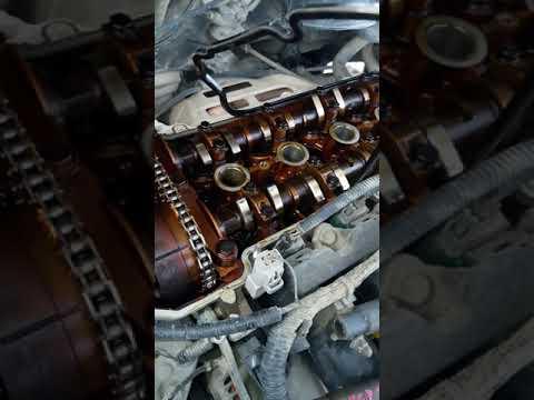 Замена прокладки клапанной крышки 1nz-fe