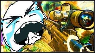 getlinkyoutube.com-Most AMAZING Spawn Trap Rage 1v1! (Call of Duty Black Ops 2)