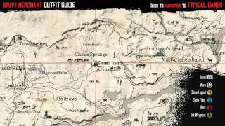 getlinkyoutube.com-Red Dead Redemption - How to get Savvy Merchant Outfit