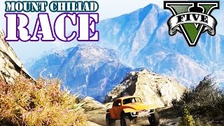 MOUNT CHILIAD EXTREM OFFROAD (+DOWNLOAD) ★ GTA 5 Online Community Custom Map Race | PowrotTV