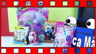 getlinkyoutube.com-Shopkins seção 2, Simpsons, Hello Kitty, Transformers e My little pony