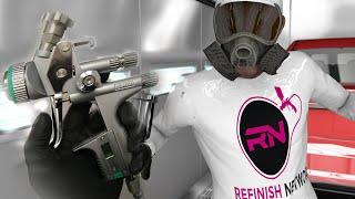 getlinkyoutube.com-Jeep Paint Repair - Sata 5000