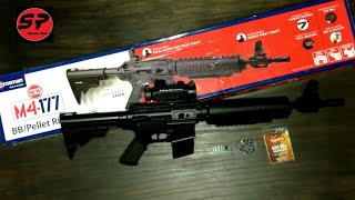 getlinkyoutube.com-Rifle Crosman M4-177 en Español