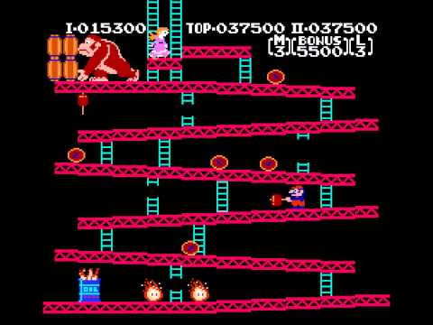 Donkey Kong - Donkey Kong NES - Netplay Playoff Matchup - User video