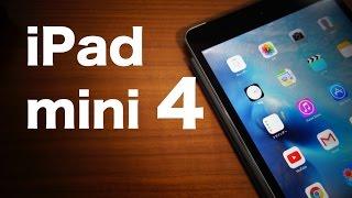getlinkyoutube.com-iPad mini4 Wi-Fi+Cellularモデルを開封!【外観映像多め】