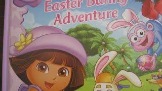 getlinkyoutube.com-Dora the Explorer -  Easter Bunny Adventure ! - Read Aloud Story Books