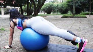 getlinkyoutube.com-Exercícios em casa - Aumentar músculos dos gluteos.
