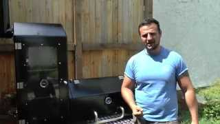 getlinkyoutube.com-Smoker einbrennen  / Wie brennt man einen Smoker ein --- Klaus grillt