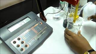 How to use the  pH meter ?