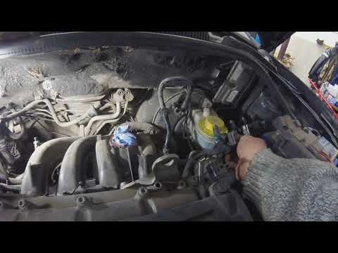 Снятие впускного коллектора Volkswagen Polo Sedan 1.6