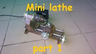 getlinkyoutube.com-Homemade mini lathe