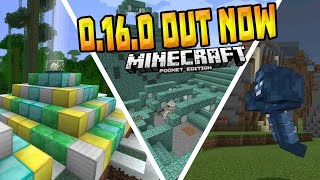 getlinkyoutube.com-MCPE 0.16.0 OFFICIAL UPDATE!!! - 0.16.0 Full Release - Minecraft PE (Pocket Edition)