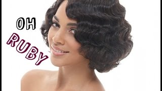 getlinkyoutube.com-Holiday Hair Glam: Janet Collection Ruby