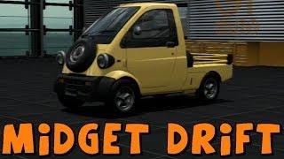 Gran Turismo 6 | Daihatsu Midget Turbo | Drift Build and Hoonage!