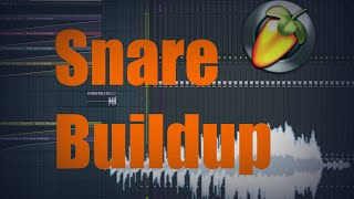 FL Studio 12 - How to make a Snare Buildup [TUTORIAL]