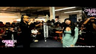 "BABS BUNNY & VAGUE ""QOTR""  DON LADYII & TORI DOE  vs PHARA FUNERAL & SHOONEY DA RAPPER / MAIN EVENT"