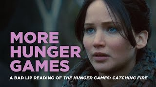 """getlinkyoutube.com-""""MORE HUNGER GAMES"""" -- A Bad Lip Reading of Catching Fire"""