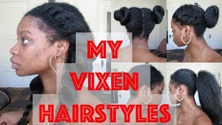 getlinkyoutube.com-Crochet Braids : My Vixen Hairstyles