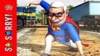getlinkyoutube.com-So Sorry: When Rajini trains Modi