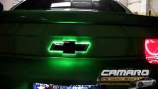 getlinkyoutube.com-2010-13 Chevrolet Camaro Synergy Green Lighting Installation by Advanced Automotive Concepts