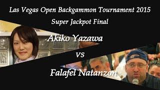 getlinkyoutube.com-[Las Vegas Open 2015] SJP Final - Akiko Yazawa vs. Falafel