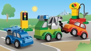 getlinkyoutube.com-Мультфильмы Лего транспорт Мультики про машинки в городе Лего Видео для детей Все машинки Лего Дупло