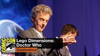 getlinkyoutube.com-San Diego Comic Con 2015: Doctor Who crew get wibbly-wobbly, blocky-wocky in LEGO Dimensions
