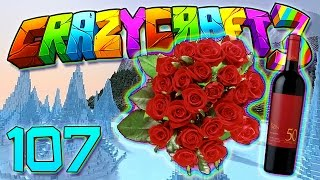 getlinkyoutube.com-Minecraft Crazy Craft 3.0: DECOCRAFT BENCH HYPE! WINE AND FLOWERS MOD! #107 (Modded Roleplay)