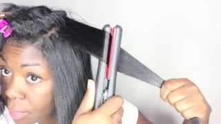getlinkyoutube.com-11 tips: How to get the BEST ** flat ironing ** results relaxed or natural hair
